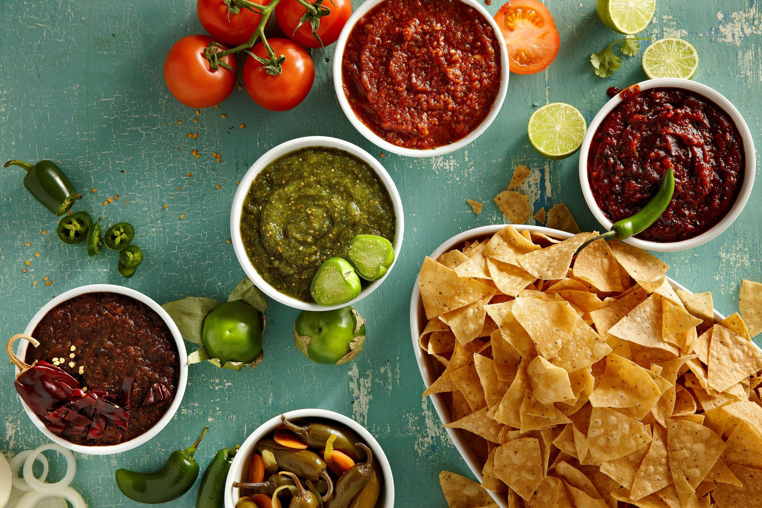 Mexican Table Sauces