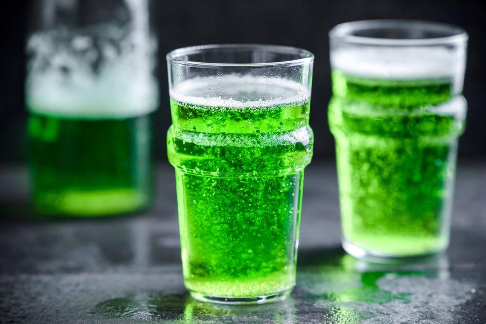 Receta de cerveza verde del día de San Patricio