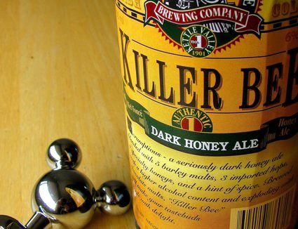 Killer bee dark honey ale