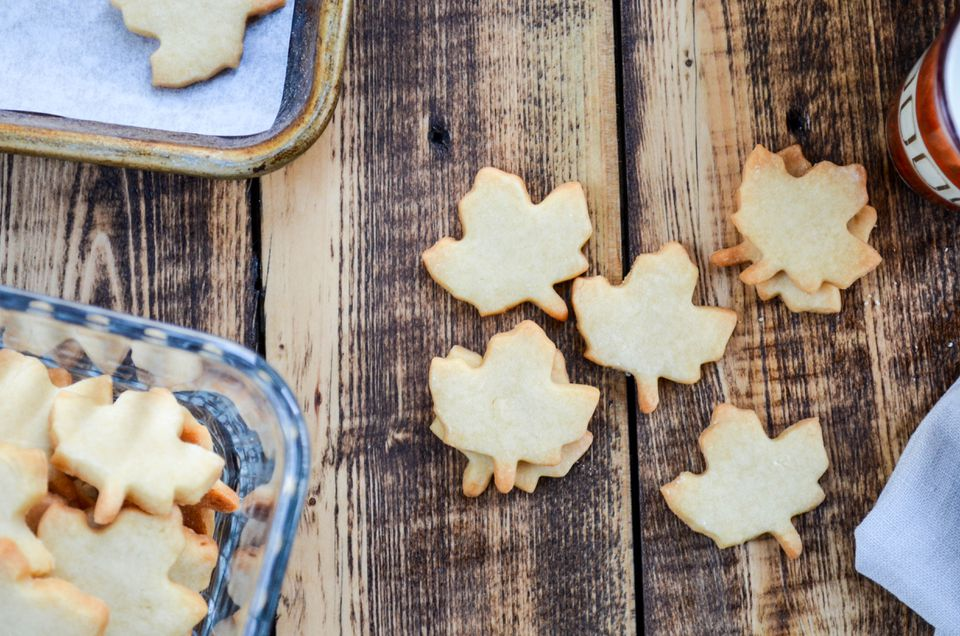 Cookies de arce