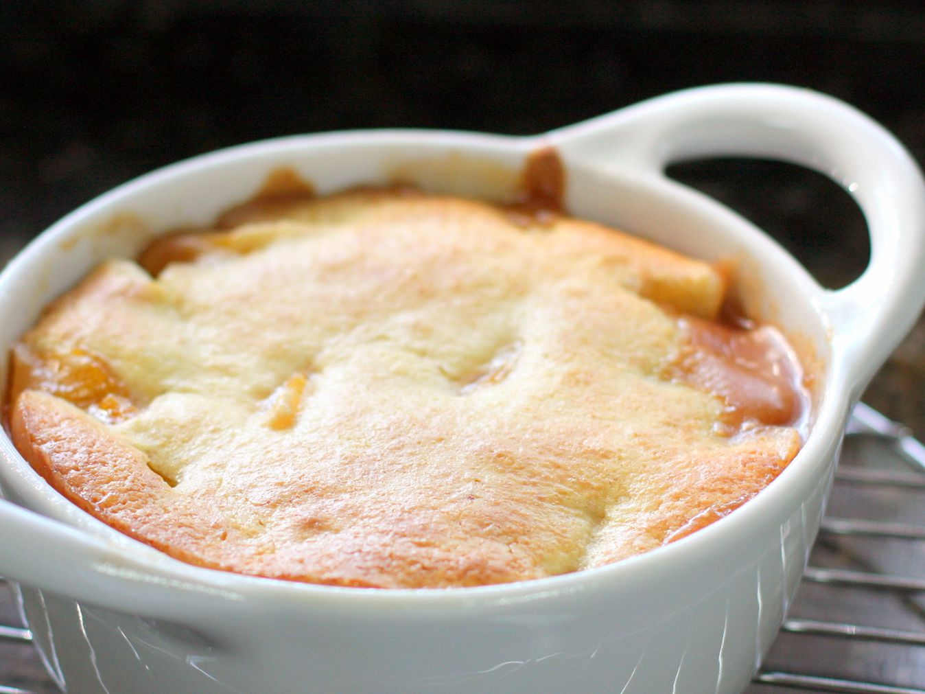 Peach Cobbler Recipe With Cake Like Topping