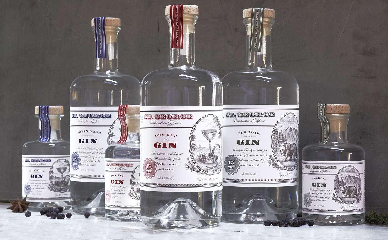 St. George Spirits' Gin Portfolio
