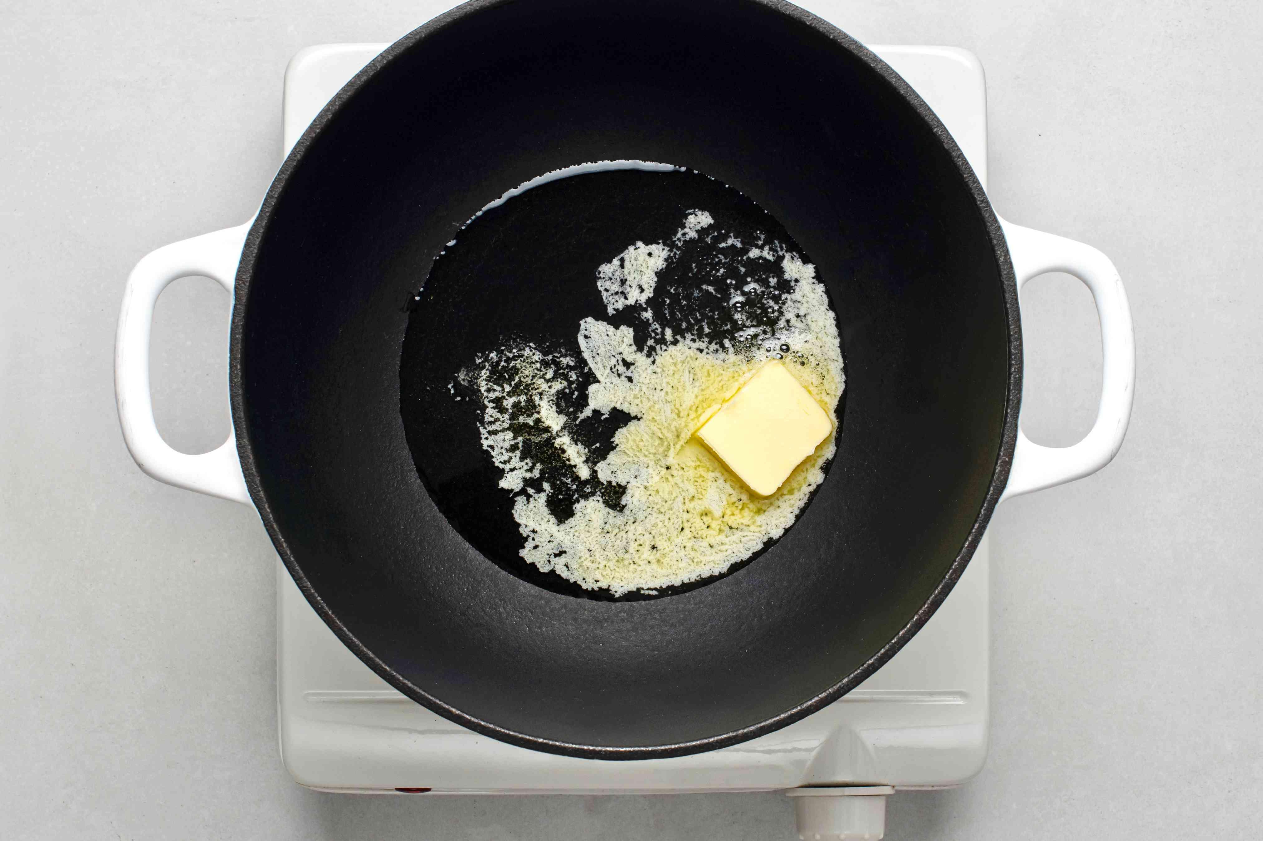 butter in a pot