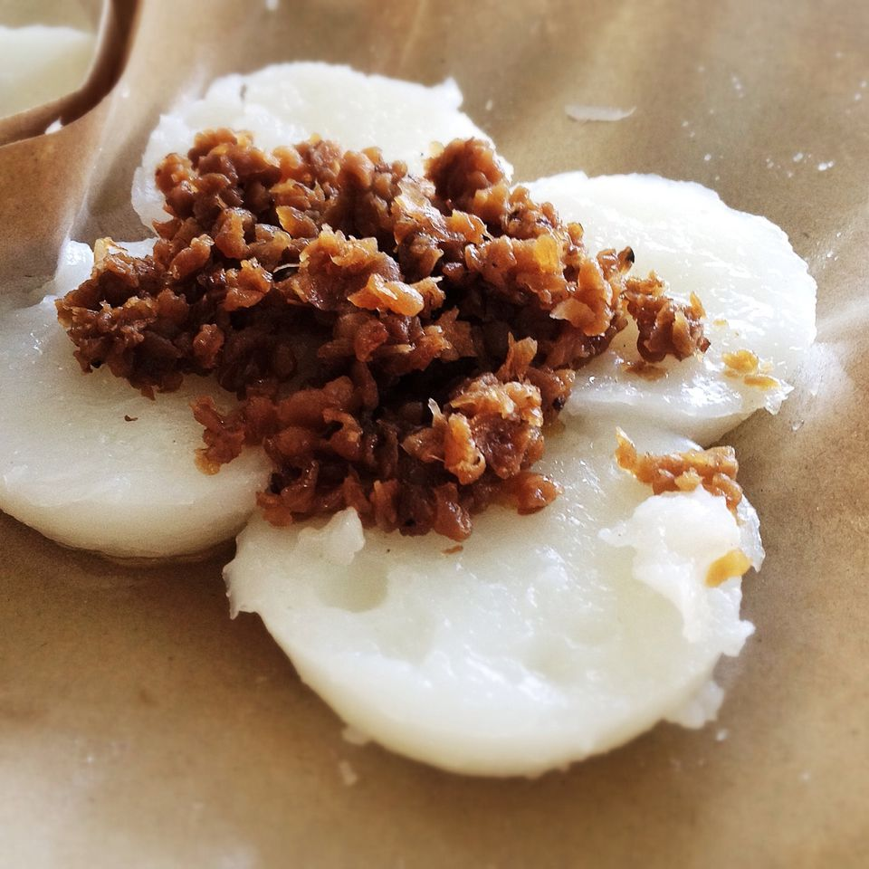 Dumplings With Fried Cracklings