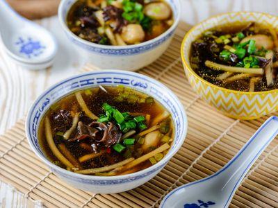 Vegan Pho (Tofu Noodle Soup)