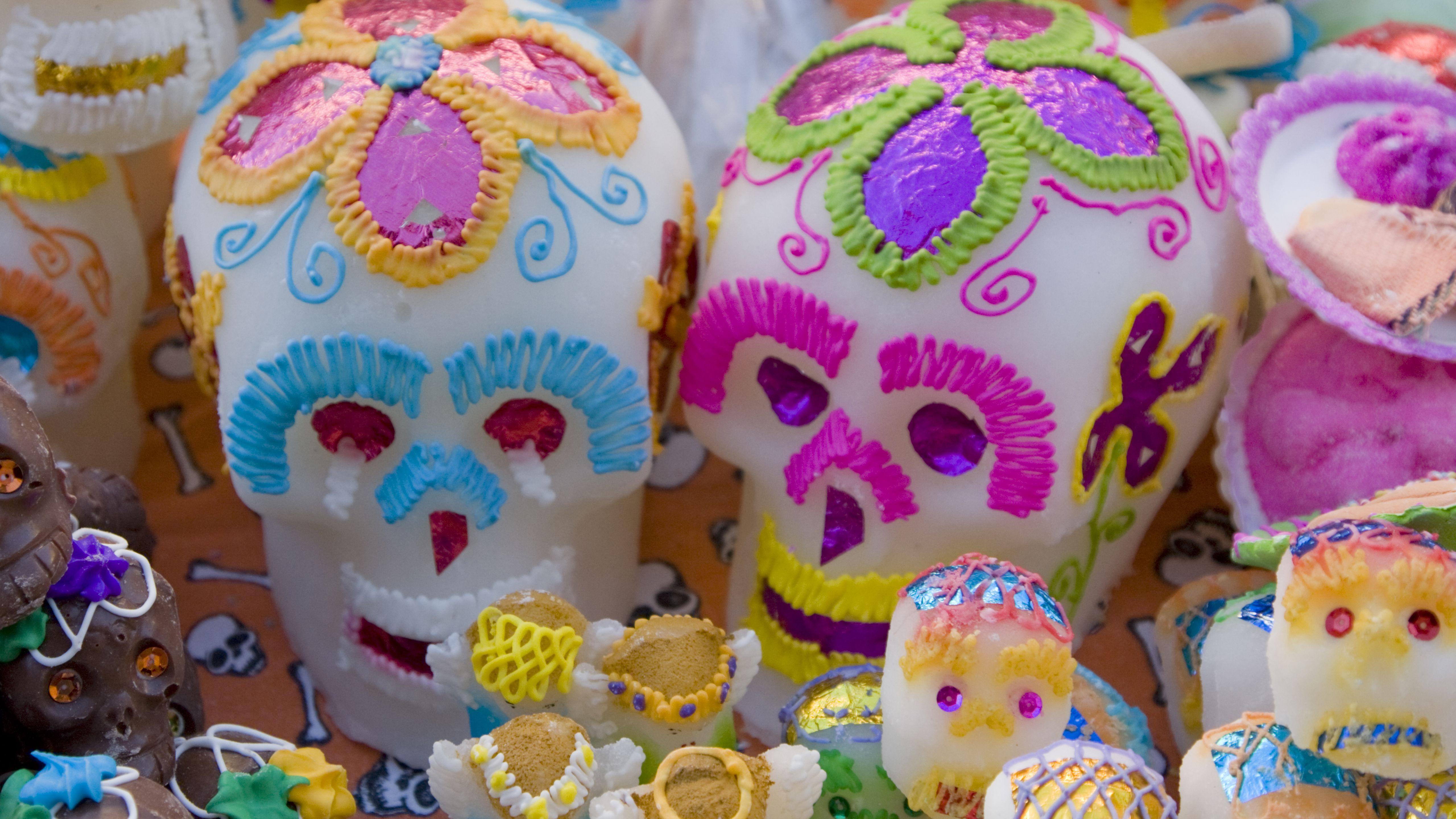 The History Of Dia De Los Muertos Sugar Skulls