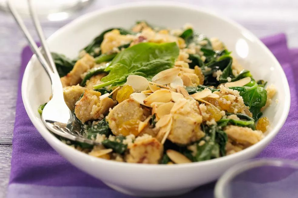 Slow Cooker Honey Mustard Chicken with Spinach