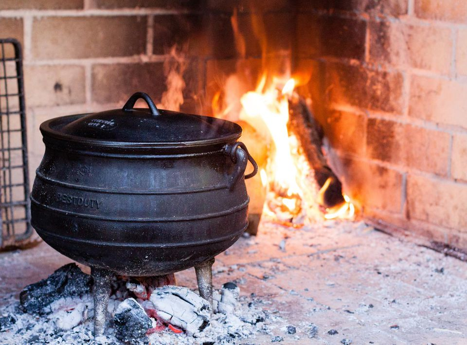 Cooking With Traditional Potjies