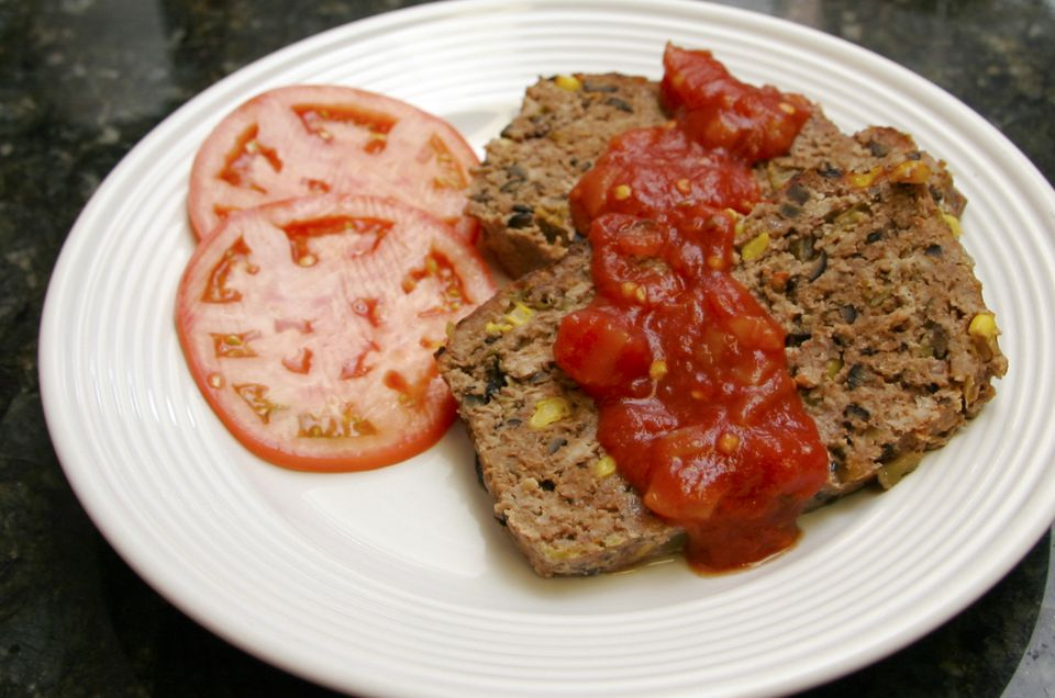 tex-mex meatloaf with southwestern flavor