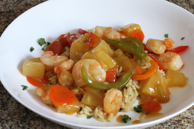 Crock Pot Sweet and Sour Shrimp