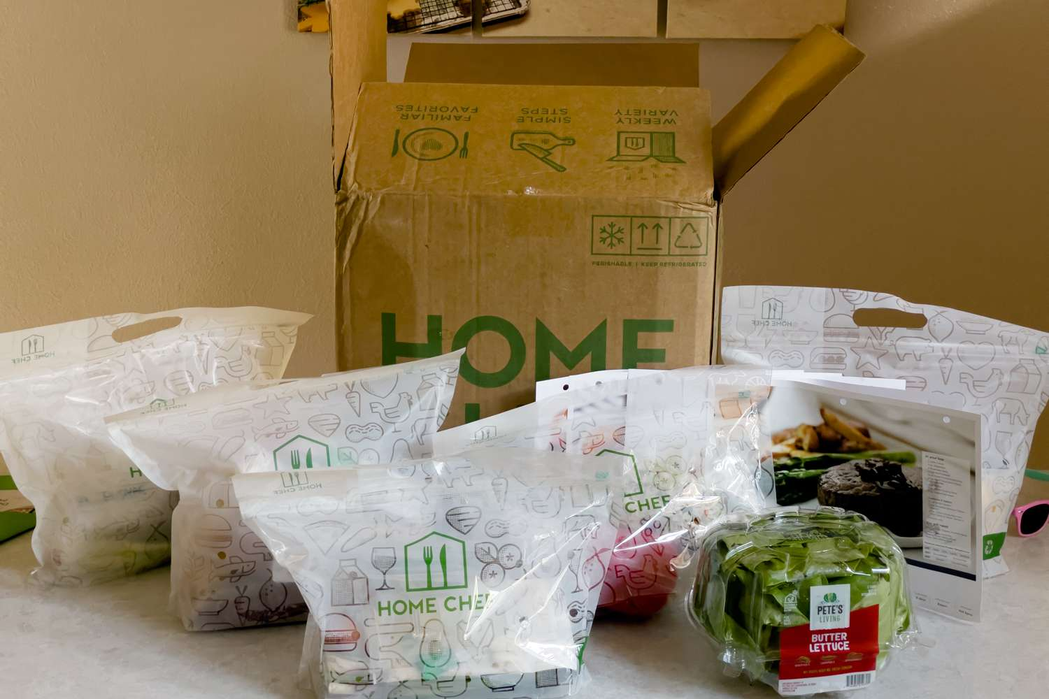 Home Chef packaging