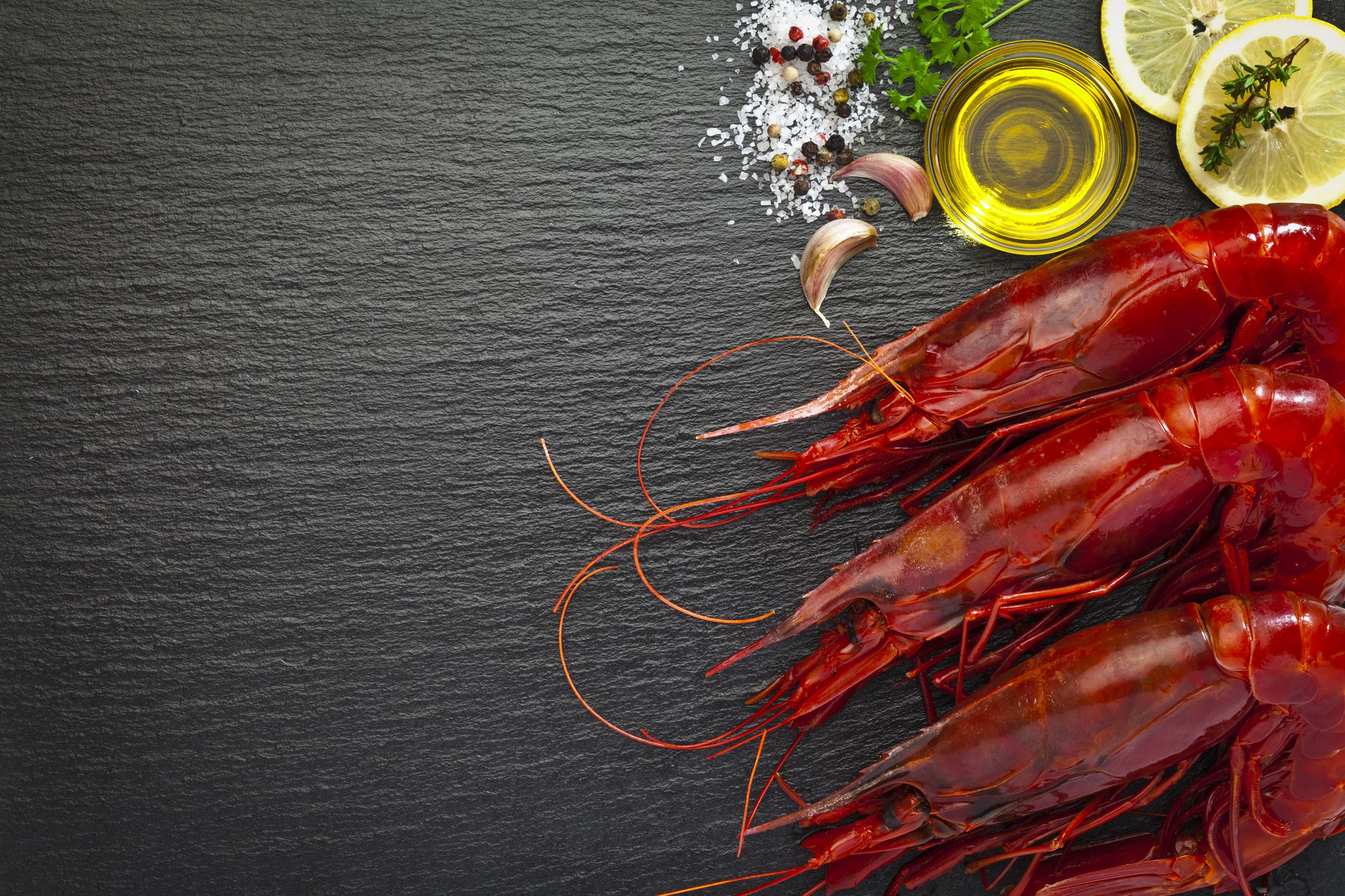 Large red shrimp