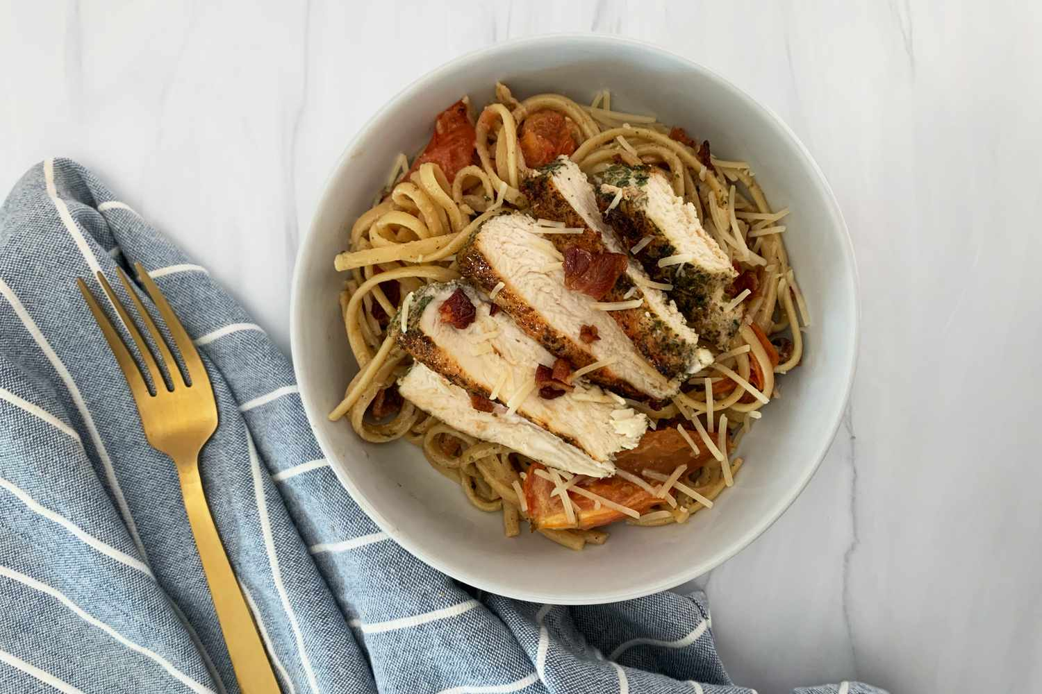 EveryPlate chicken and pasta