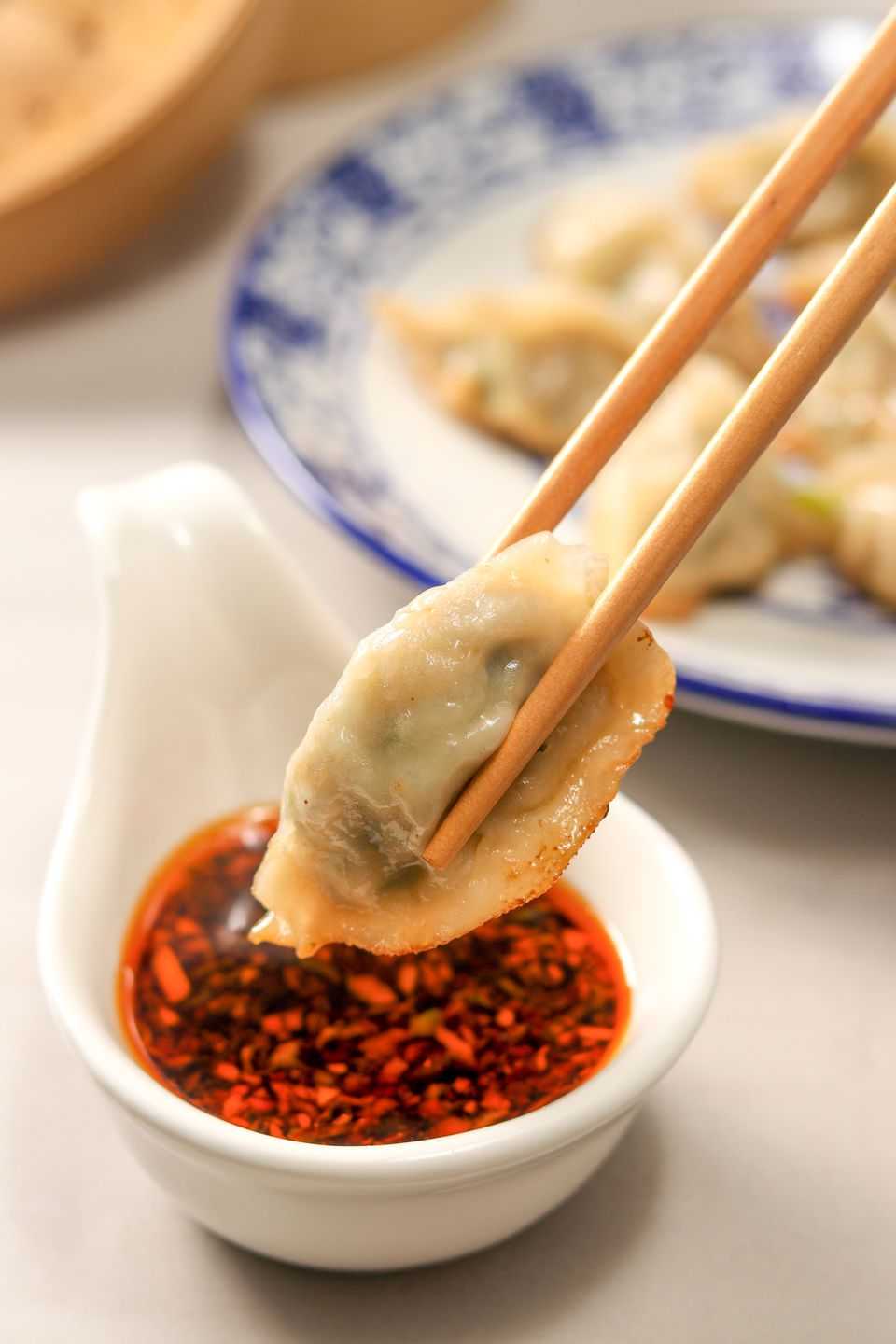 Chinese potstickers sauce.