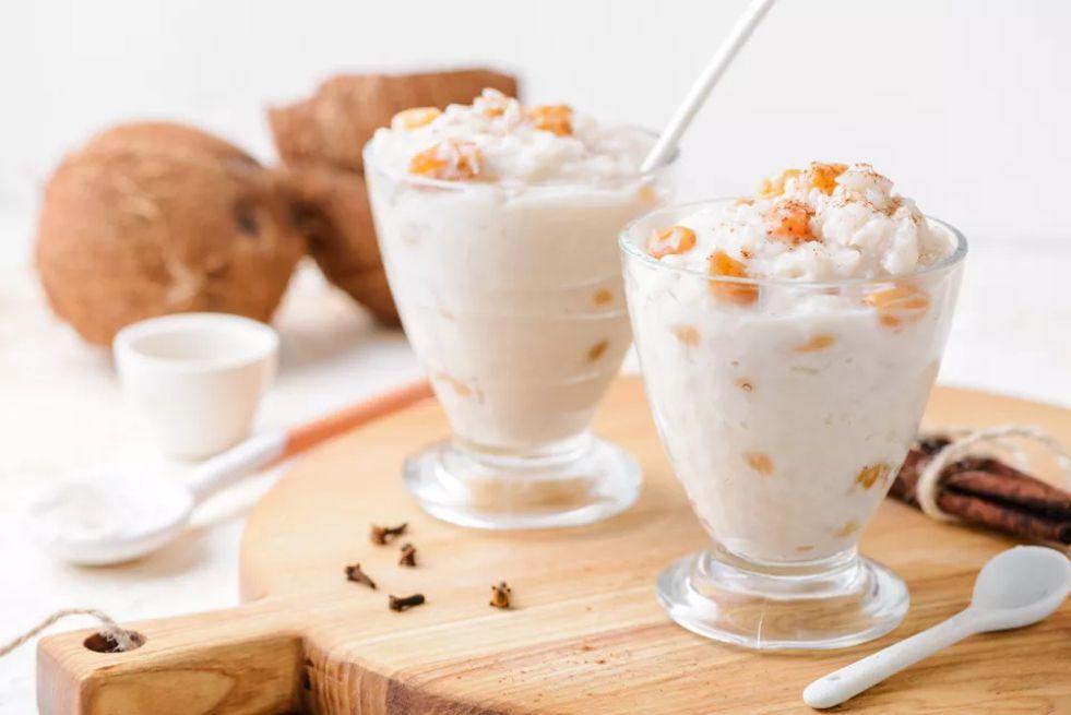 Arroz con dulce (Puerto Rican rice pudding)
