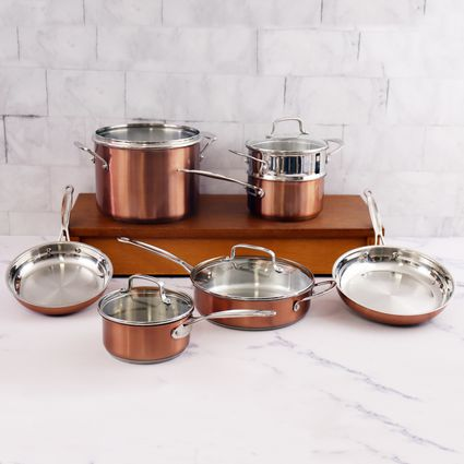 Cuisinart Chef's Classic Stainless Color Series 11 Piece Set