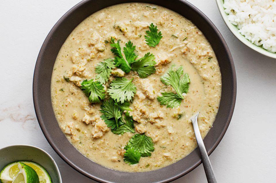 Thai crab curry recipe