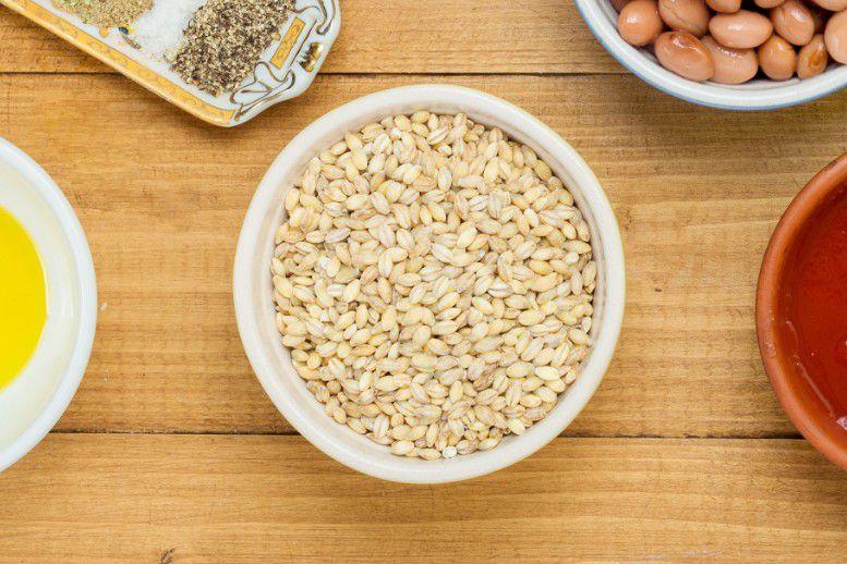 close up of barley