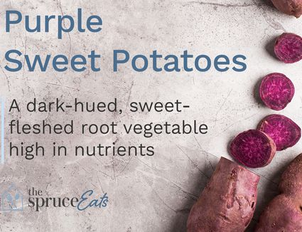 what are purple sweet potatoes
