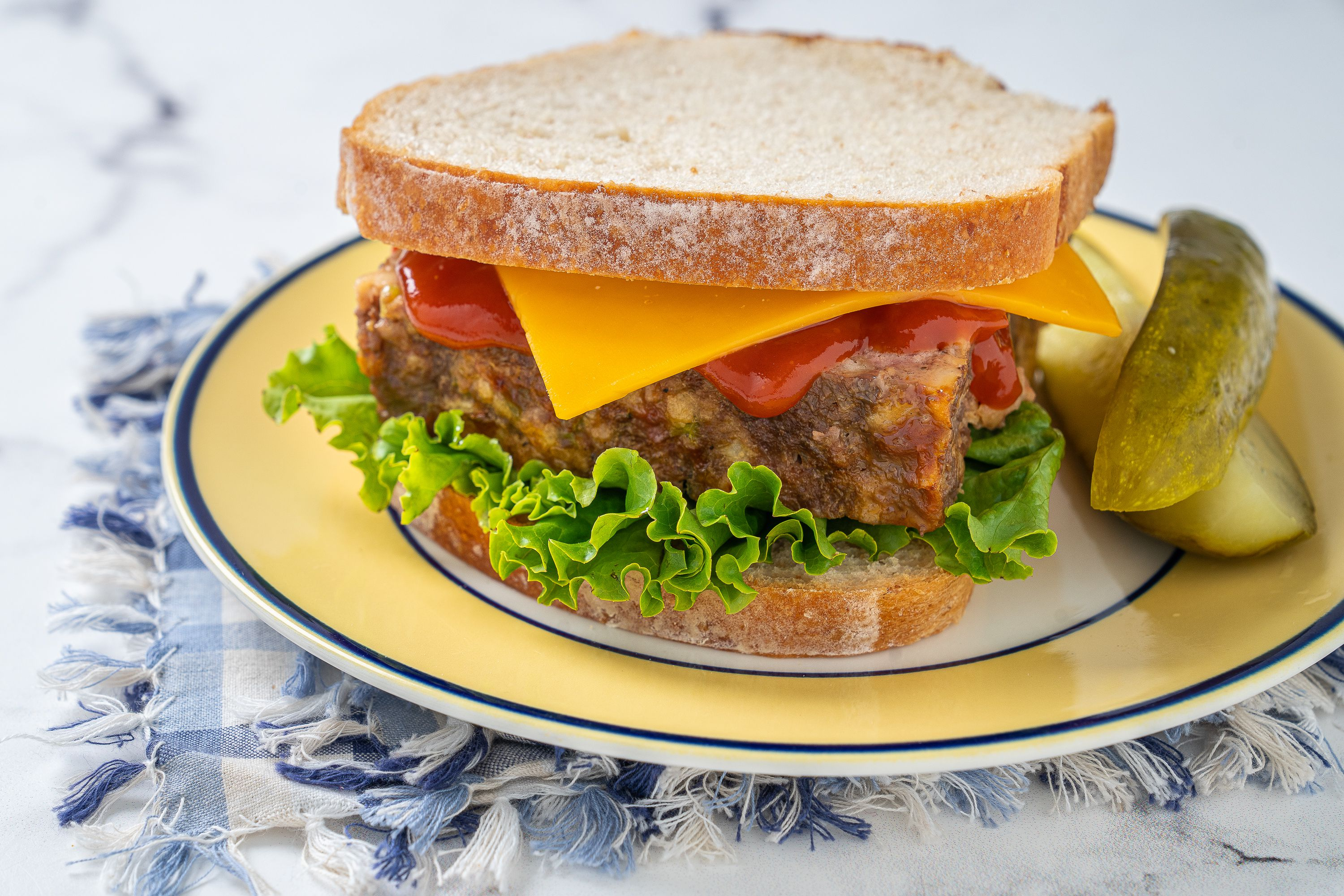 Most Popular Ingredients to Make Ready Meatloaf Sandwich