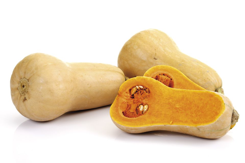 'Butternut pumpkins, close-up'