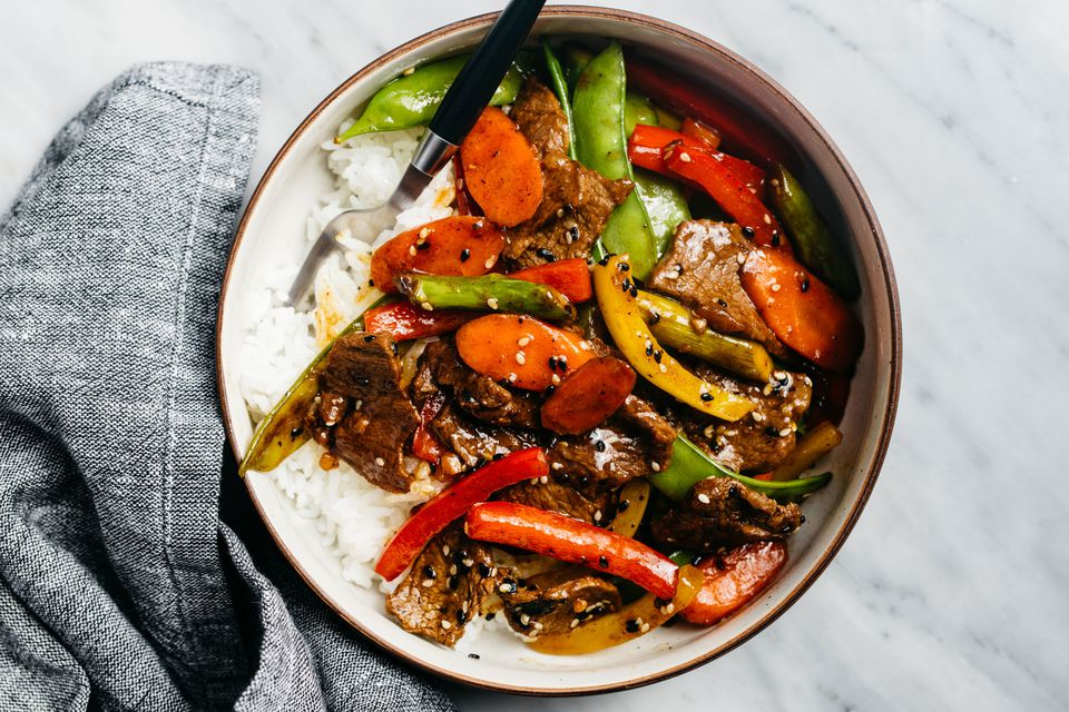 Sweet and Sour Steak Stir Fry
