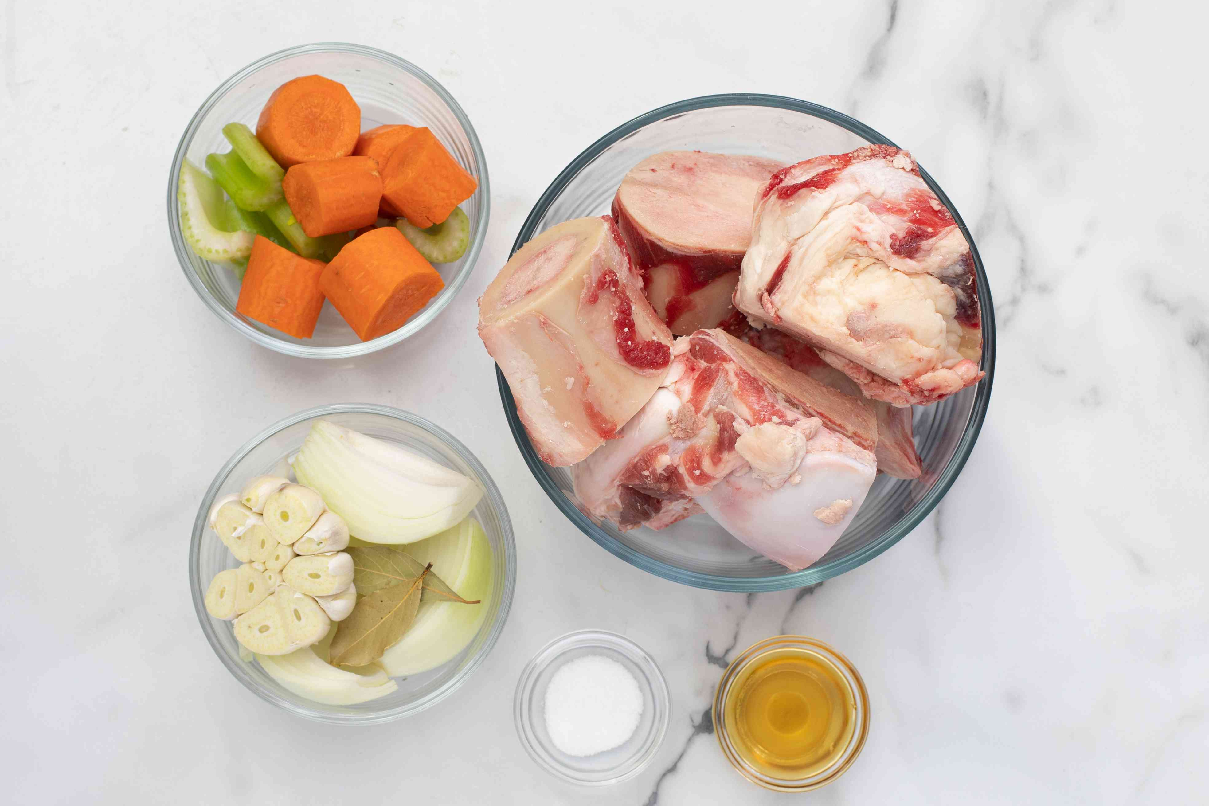 ingredients for bone broth