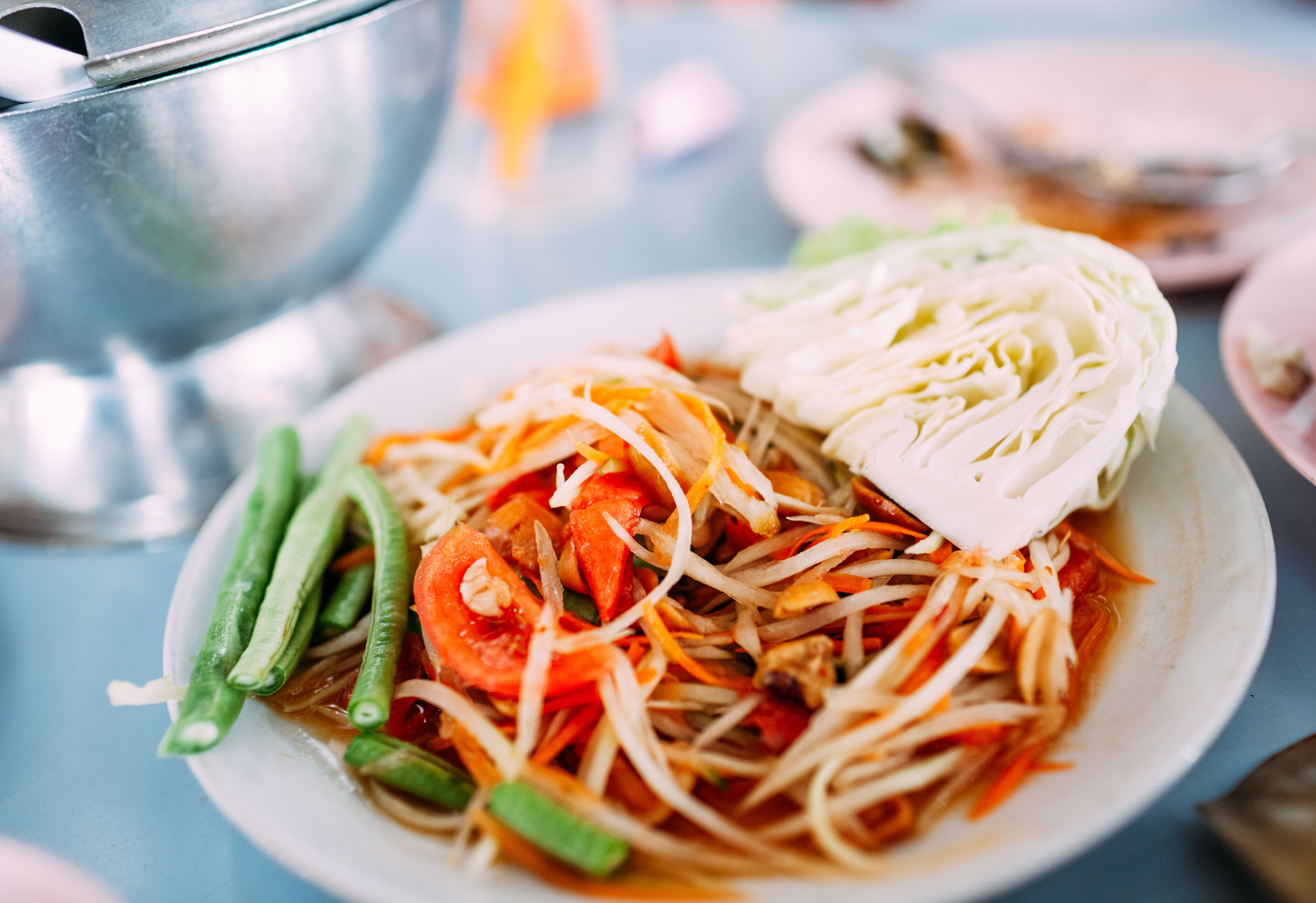 som tam papaya salad