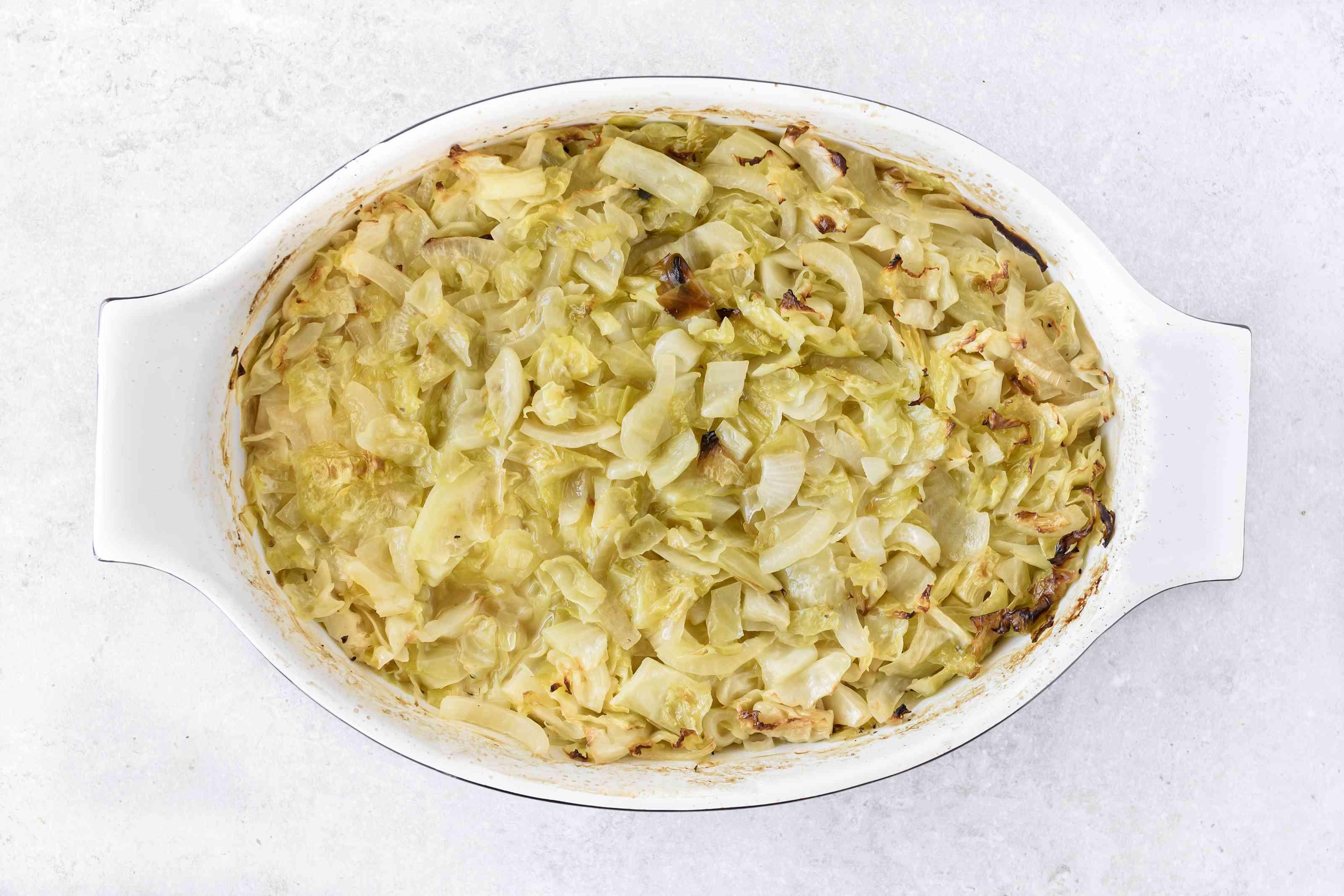 Bake uncovered for oven method for Polish hałuski