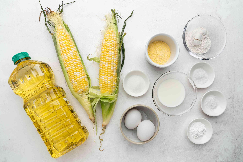 Sweet Corn Fritters ingredients