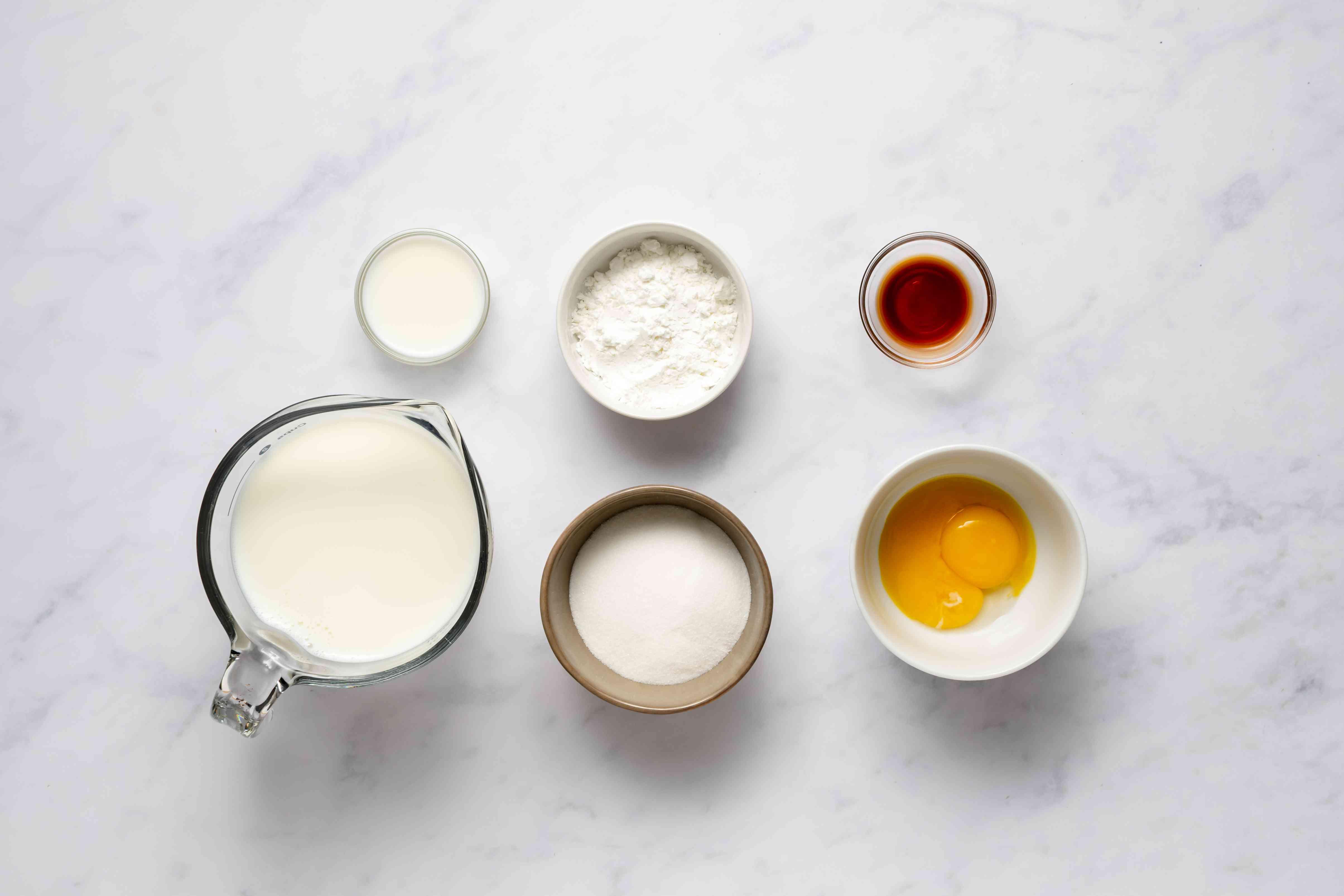 pastry cream ingredients