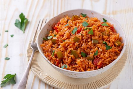 Mexican Rice On The Border Rice Recipe