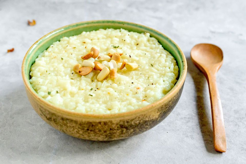 Cómo hacer congee (gachas de arroz chino)