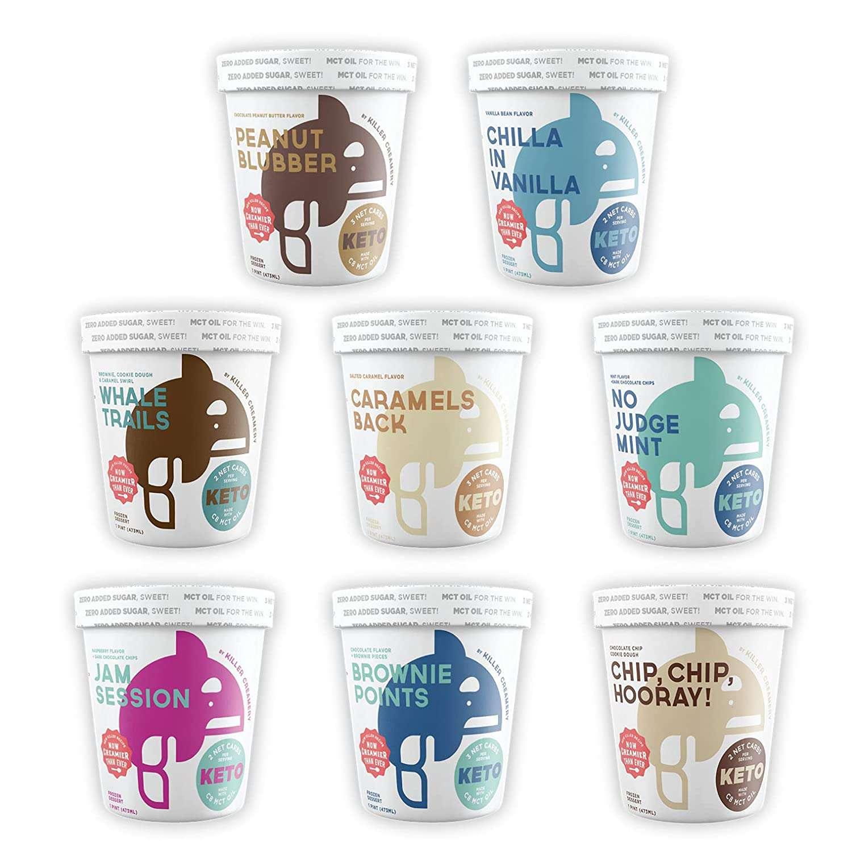 Killer Creamery The Crave Pack Keto Ice Cream