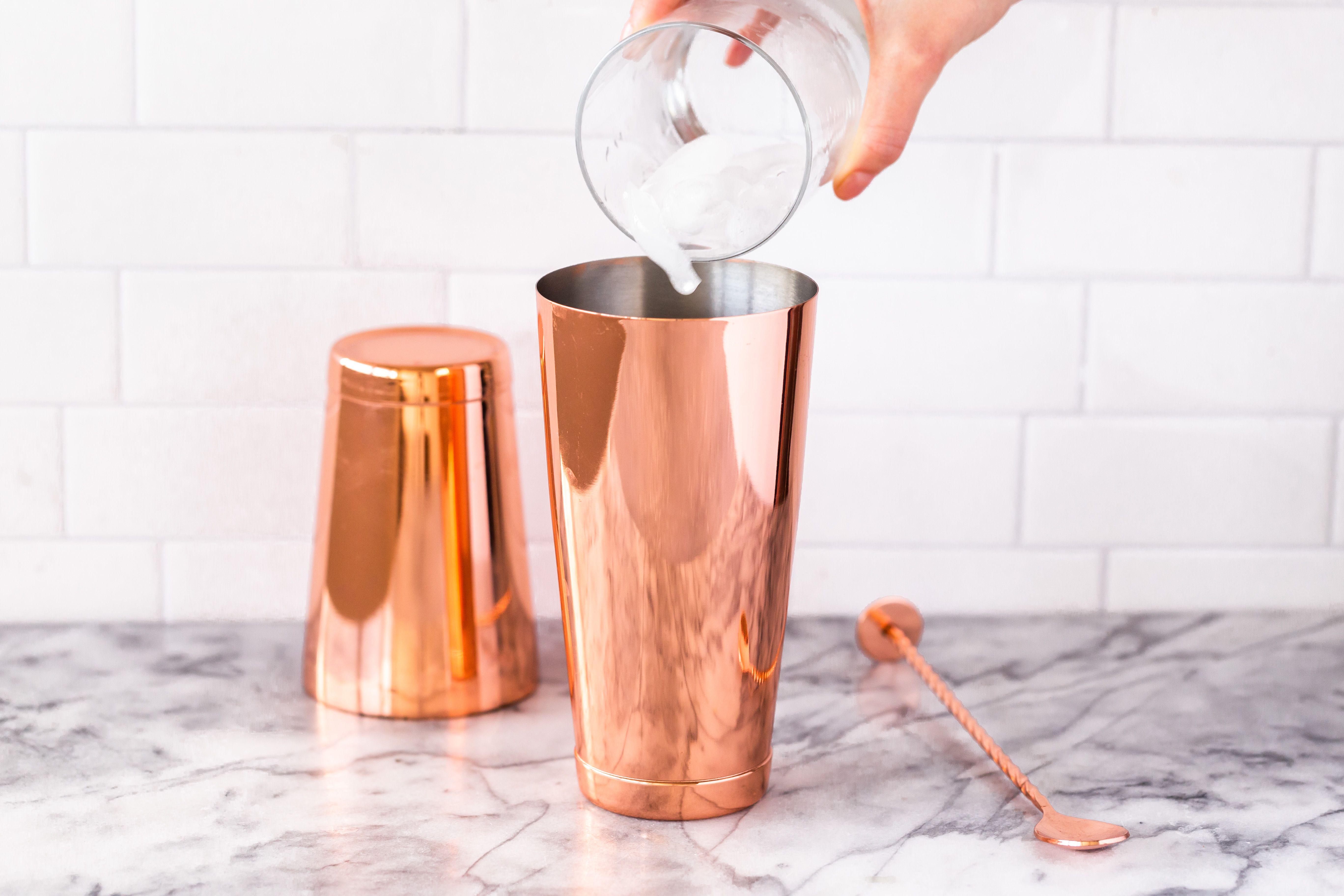 Drink in shaker