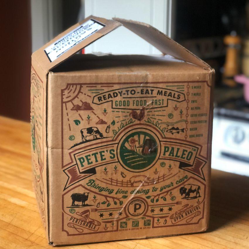 Pete's Paleo shipping box