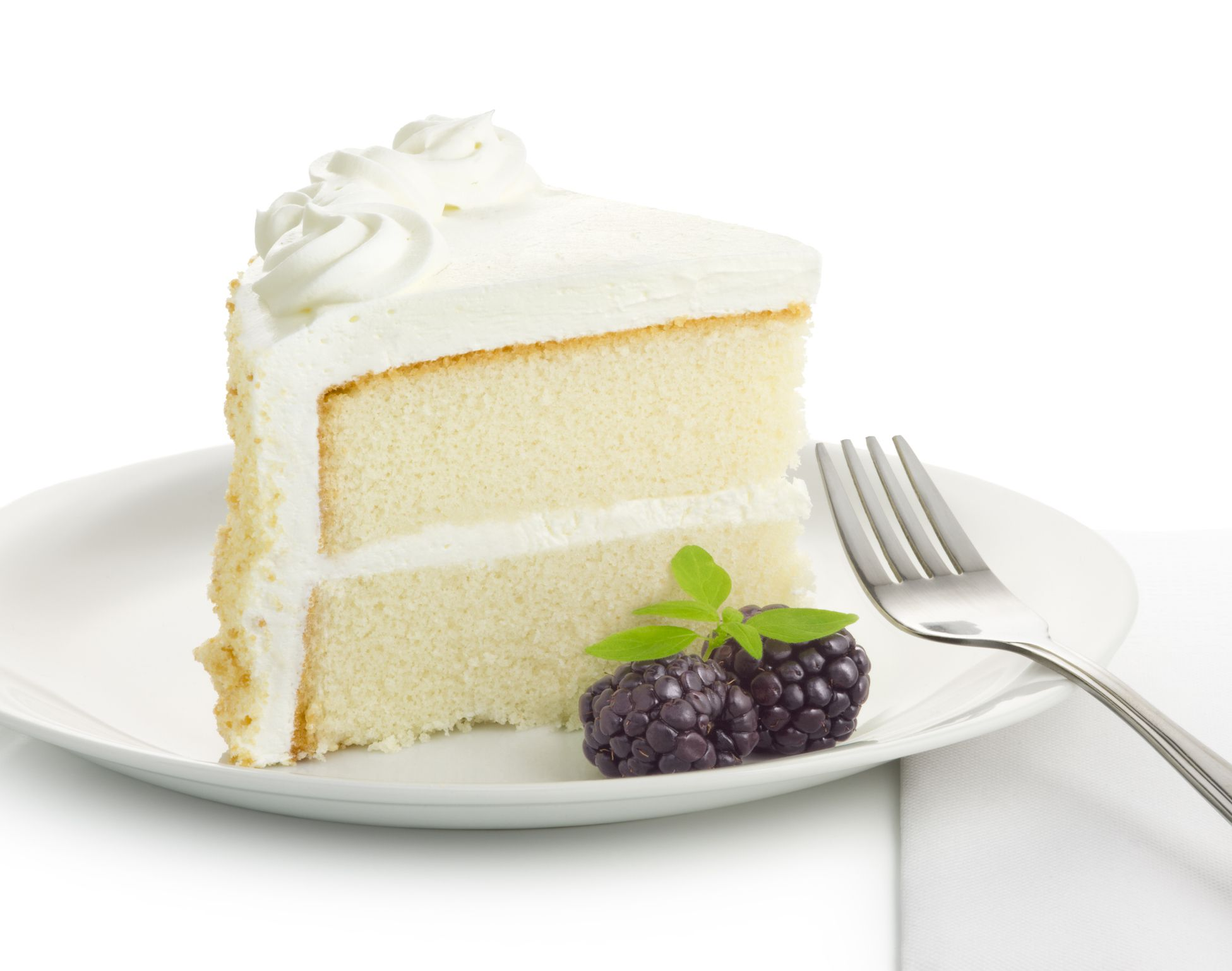 This Simple White Layer Cake Is Light, Fluffy, and Delicious