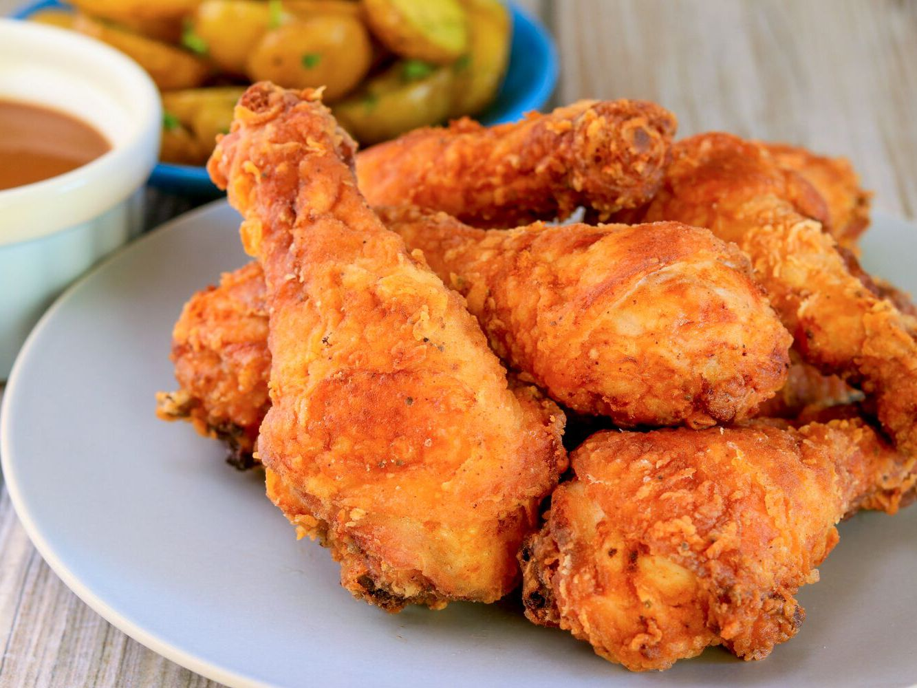 Crispy Fried Chicken Drumsticks Recipe