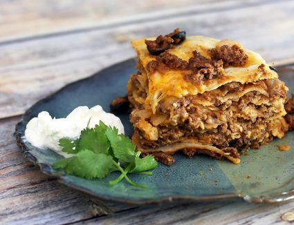 Slow Cooker Taco Stack