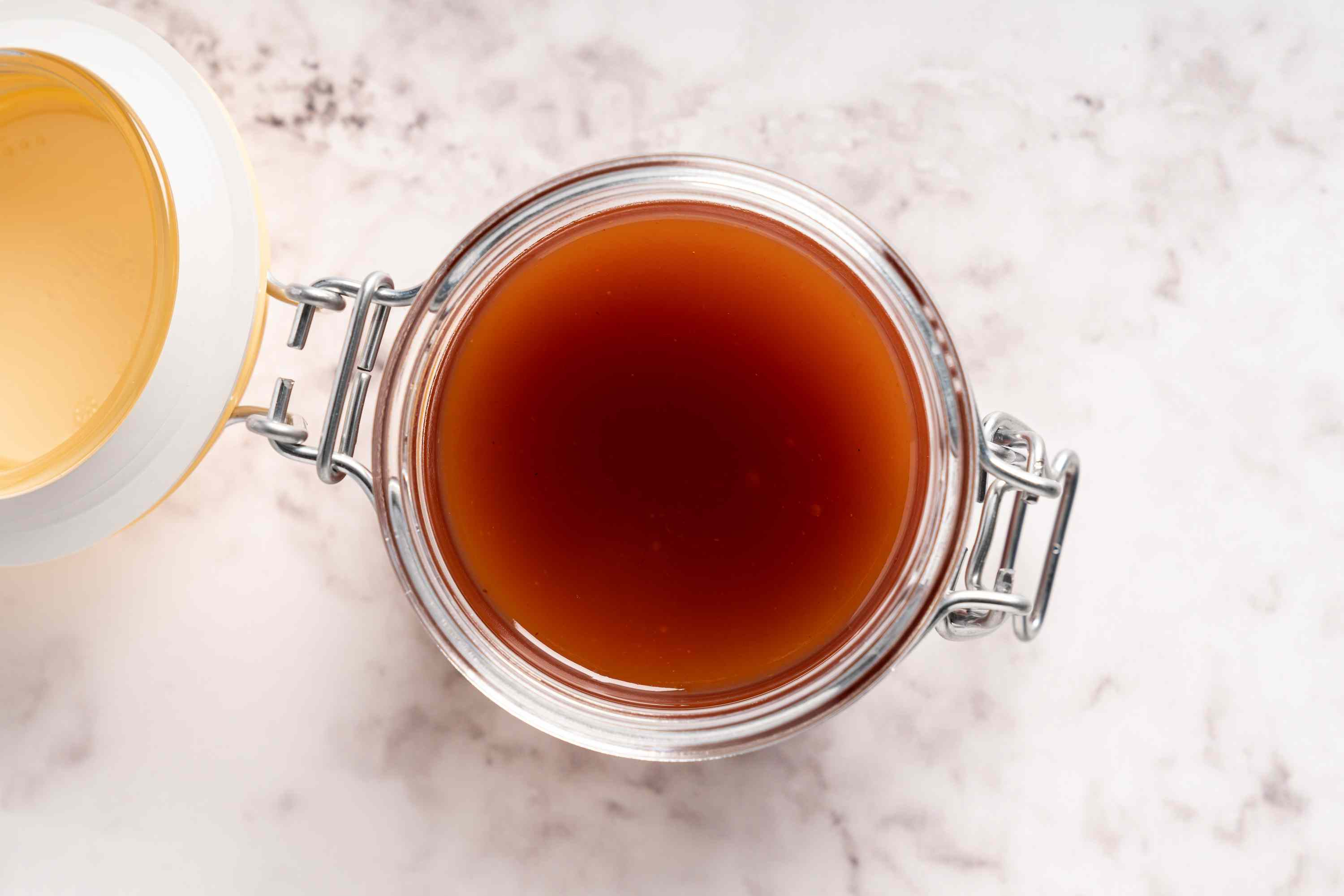 Chinese Sweet and Sour Sauce in a jar