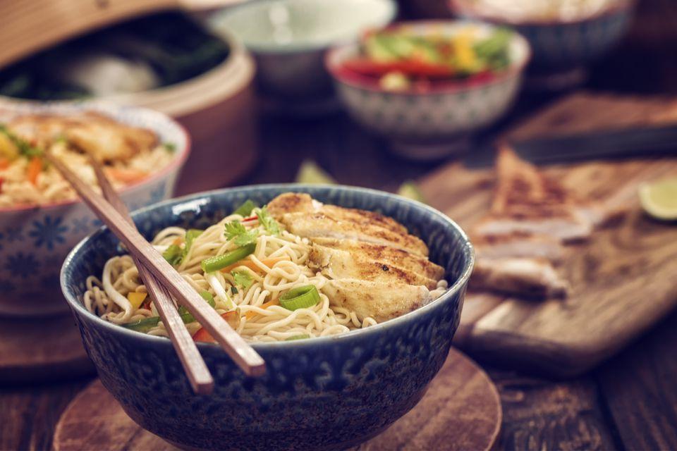 Chicken Noodles Stir Fry