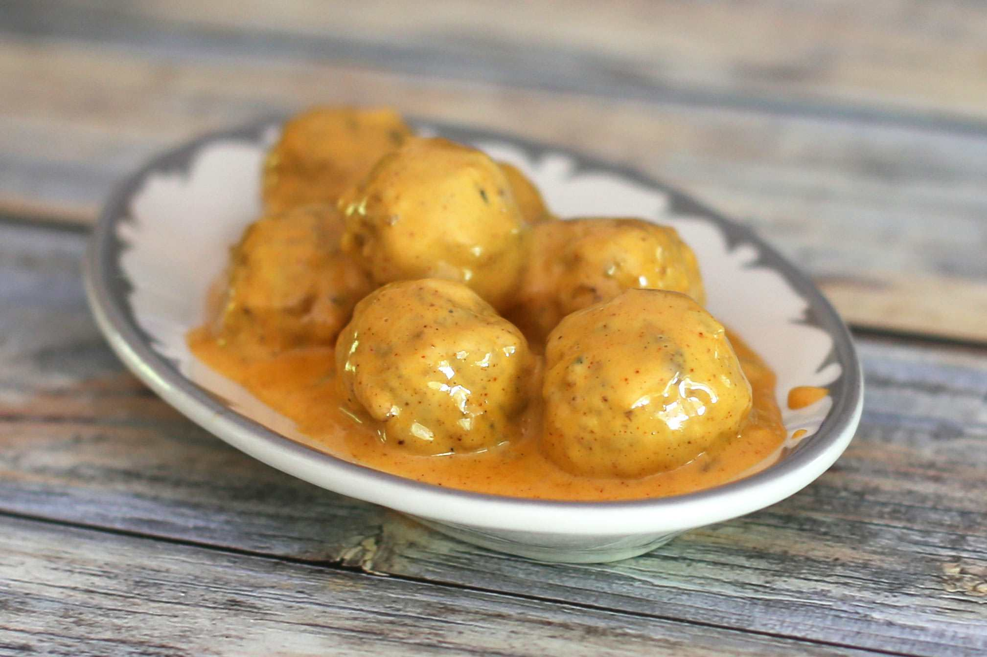 Mexican Meatballs in Cheese Sauce
