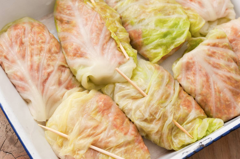 Baked Stuffed Cabbage Rolls Recipe