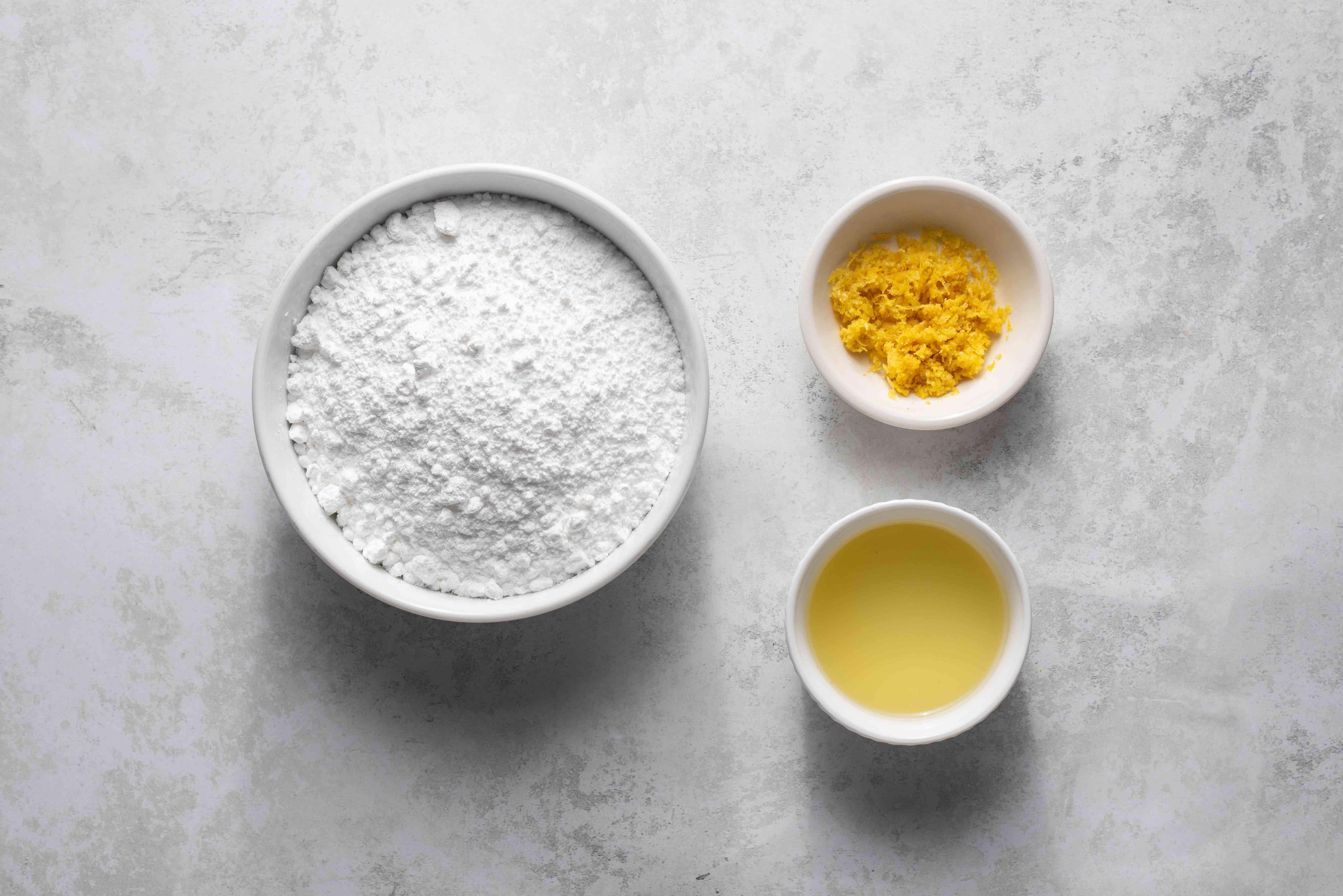 icing ingredients