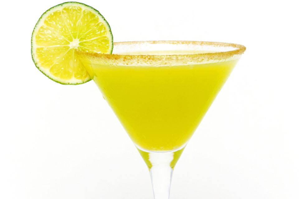 Easy vodka key lime pie martini