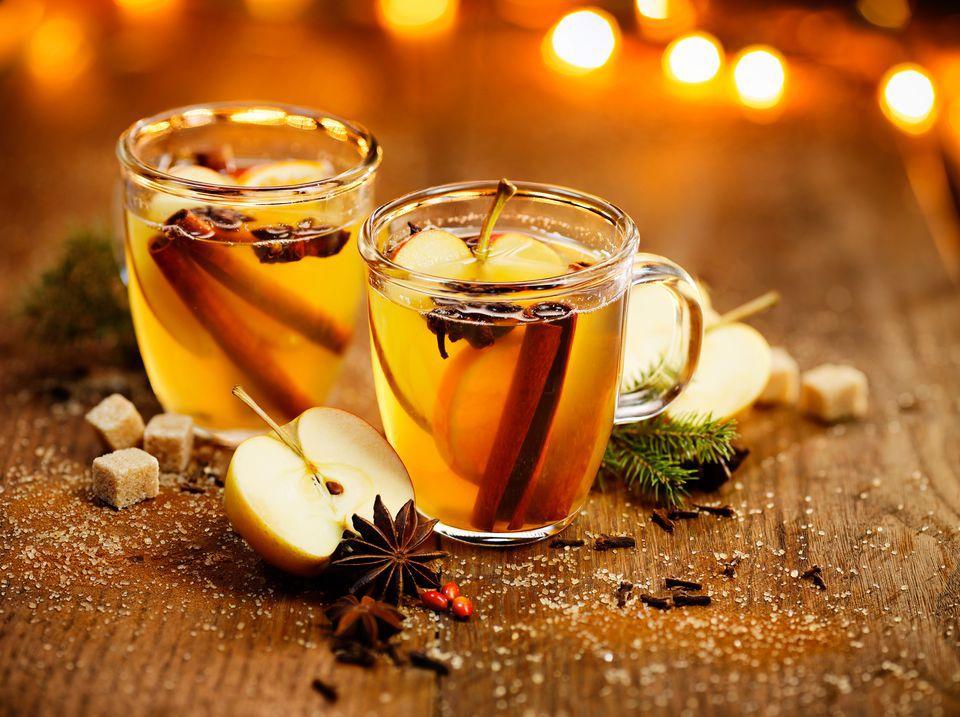 Hot Gold Apple Cider