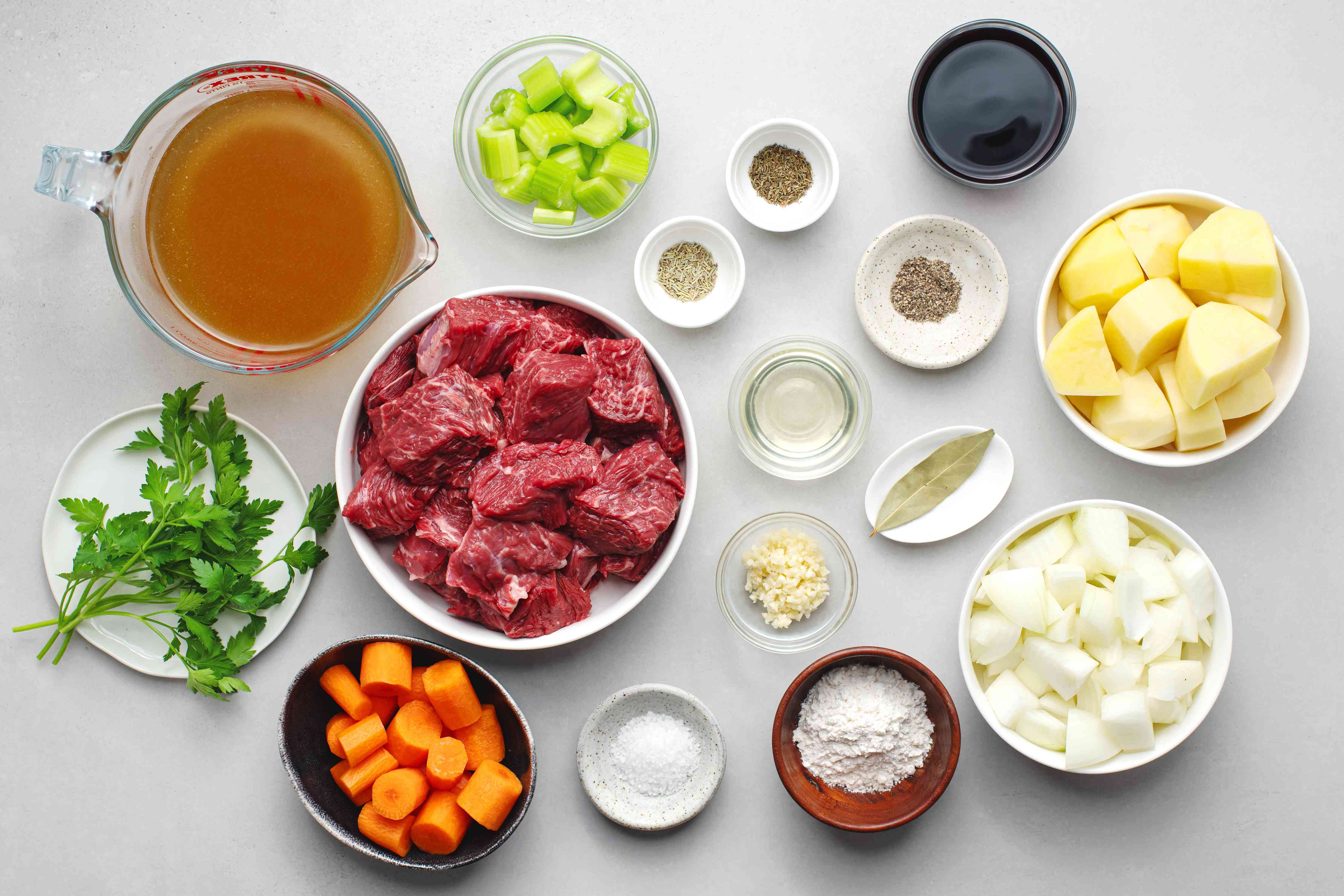 Old-Fashioned Stew Ingredients