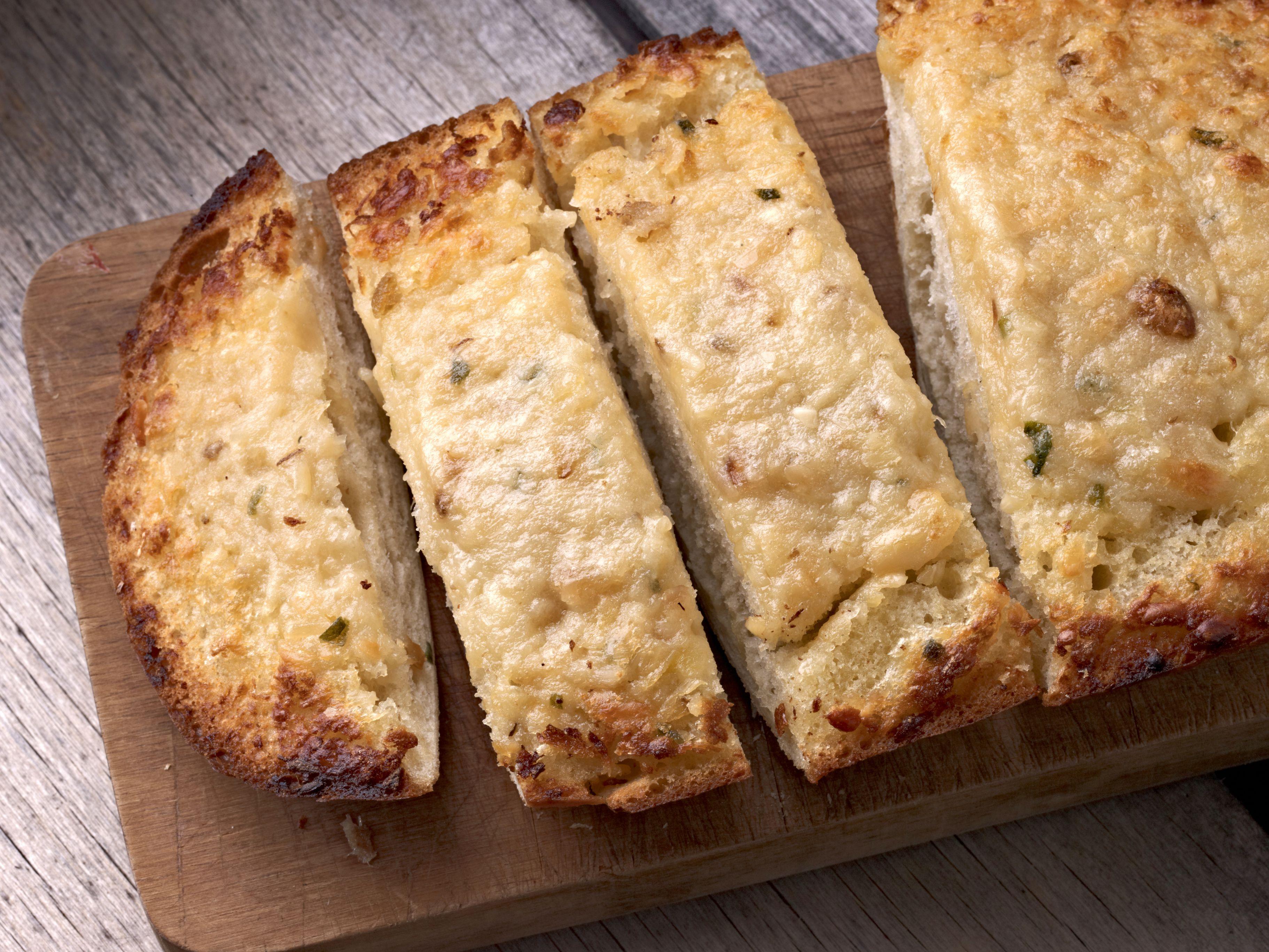 Toasted Parmesan Garlic Bread