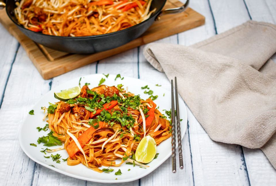 Thai Fried Rice Noodles