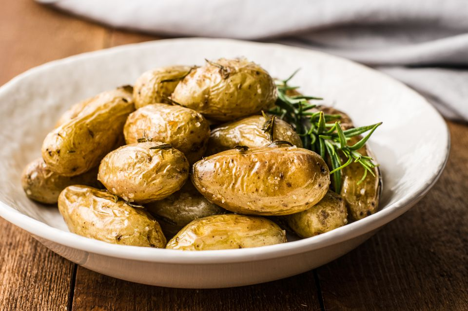 Herb roasted fingerling potatoes